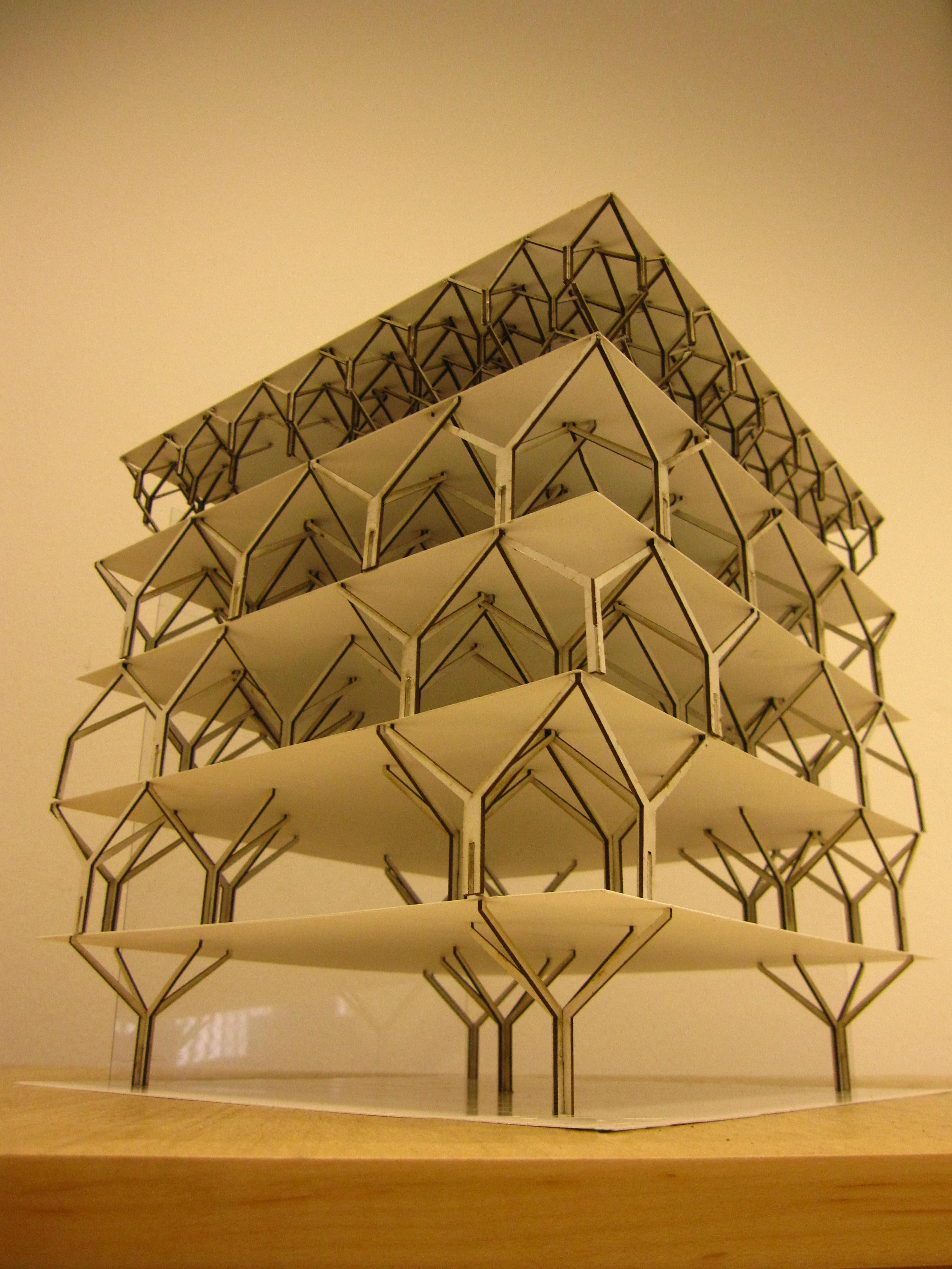 Tree Structure Digital Fabrication In Architecture Group