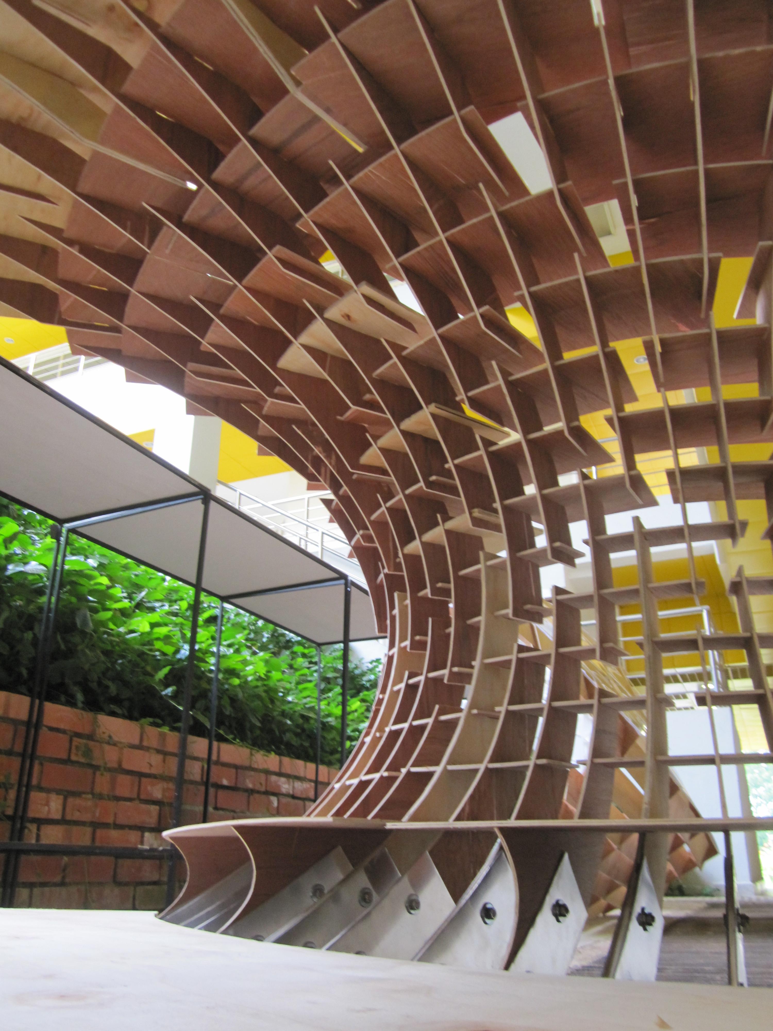 Bamboo Facade Architecture Kengo Kuma