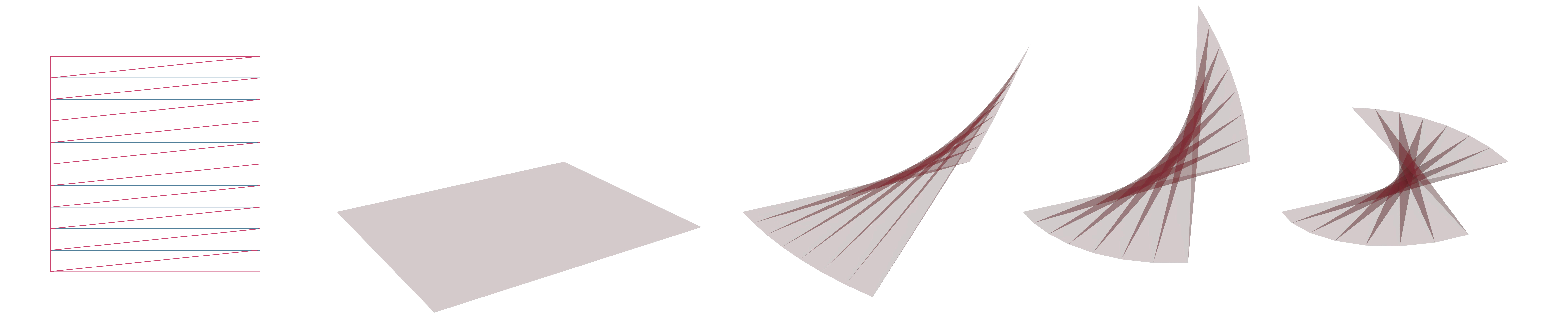 Folding Adds Structural Stiffness To A Surface And Can Be Potential Construction System For Large Span Structures With Complex Geometry