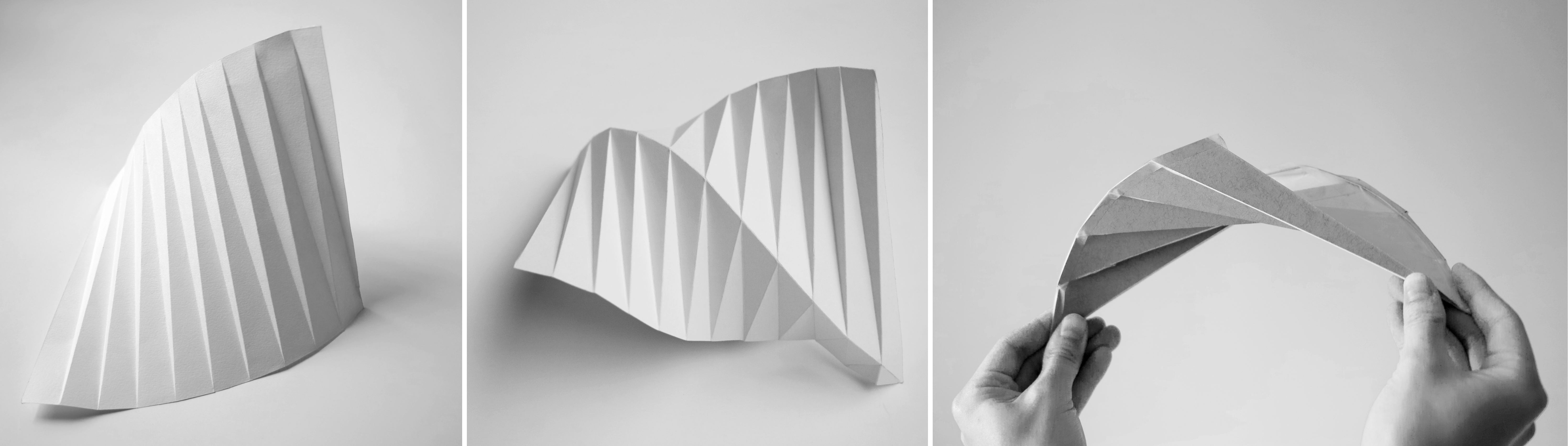 Folded Shell Structure By Liane Ee Digital Fabrication